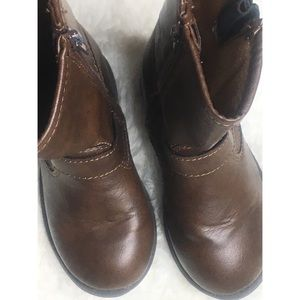 Carter's Brown toddler boots, size 8